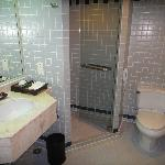 More than adequate bathroom