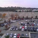 Mall across the parkinglot