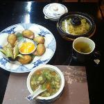 soup,apetizer,main meal