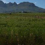 View over Helderberg at the other side