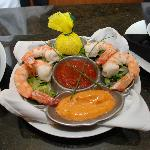 Chilled colossal shrimp