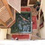 Hammam plunge pool
