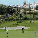 Campo da golf e spiaggia