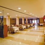 Sala da pranzo Hotel Maregolf