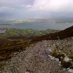Clew Bay from Croagh Patrick on a cold November day!