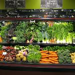 The best produce section in town - featuring local and organic