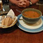 Minestrone soup mmmm...