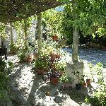 courtyard & summer kitchen