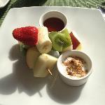 Yogurt Platter - Breakfast