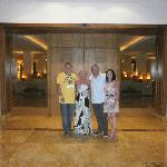 John,Cathy Paul & Tracey Entrance to heaven