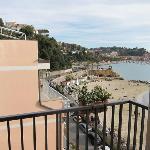 My corner balcony view