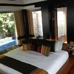 Double pool villas