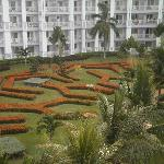 View from our room of some of the Gardens