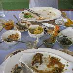 Empty plates and happy tummies