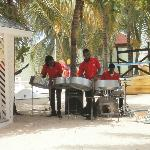 Steel Drum Band on the Beach