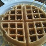 Their yummy waffles!!!