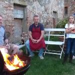 Our Aussie BBQ - Tuscan style!