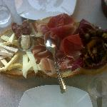 Appetizers of Sardinian delicacies