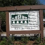 sign at entrance