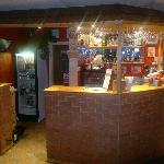 night view of the bar