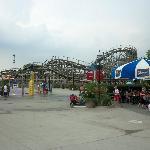Waterpark area