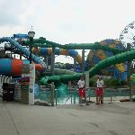 Vortex, Riptide, & Surge (in the waterpark)