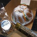 Lemon Lulu cake; Buttercrunch; Lemon Almond Brittle