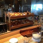 ホテルの朝食ブッフェ2⃣