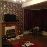 Lovely warm, cosy front room