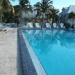A view from the pool