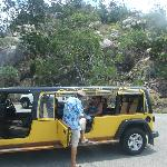 Tropicana Tours - Our tour guide and vehicle