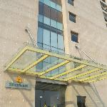 Entry to the Hotel