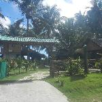 Entry to Resort