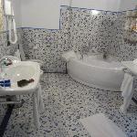 Beautiful two-sink bathroom
