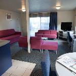 Bright spacious rooms