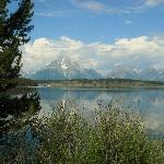 Mountains and Jackson Lake