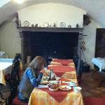 Pleasant breakfast room