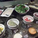 Cold dishes at Breakfast Buffet