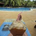 My favourite spot at Megano poolside