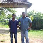 Nishanth & Manager Gypson