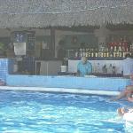 bar a la piscine