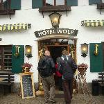 Wolf restaurrant exterior
