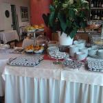 Breakfast, jam table