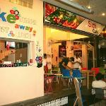 Front off Sitti Cafe (Take away)
