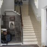 Front foyer and up the stairs
