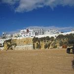 Hotel Rocamar from Beach