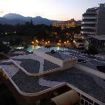 tetti particolari e piscine termali