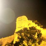 Maharana Pratap's birthplace - lit up in night
