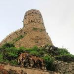 Imposing monument of the birthplace of Maharana Pratap