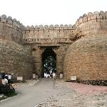 The gignatic fort entrance